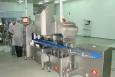 Нарезка блочного сыра на порции с фиксированным весом на машине FALCON Hybrid фирмы TREIF